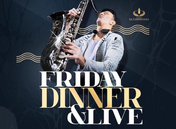 Friday Dinner & Live im Coco Beach