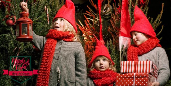 In Riva öffnet der Weihnachtsmann die Pforten zu seinem Haus