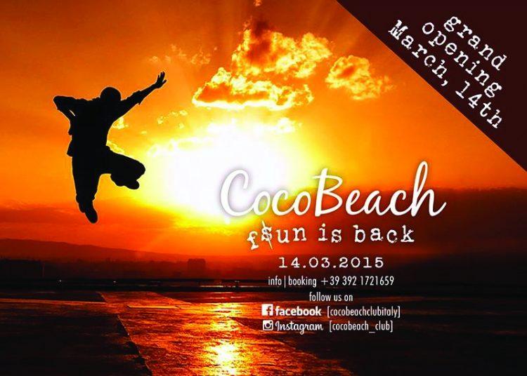Coco Beach: Saisoneröffnung am 14. März