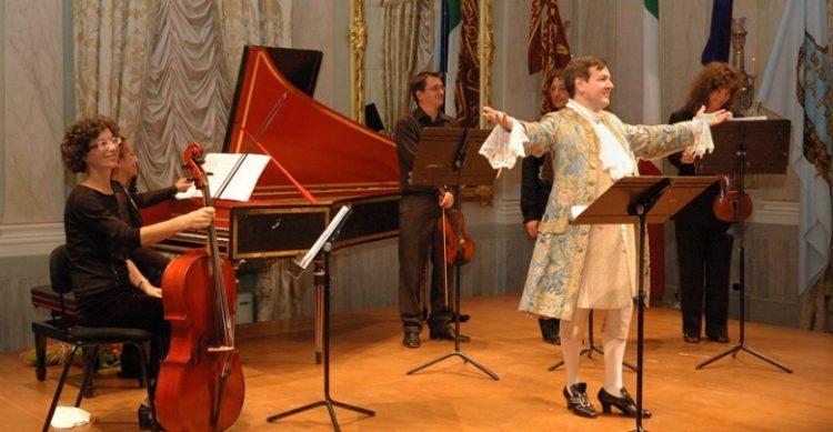Vivaldi an der Scuola Grande di S. Rocco in Venedig