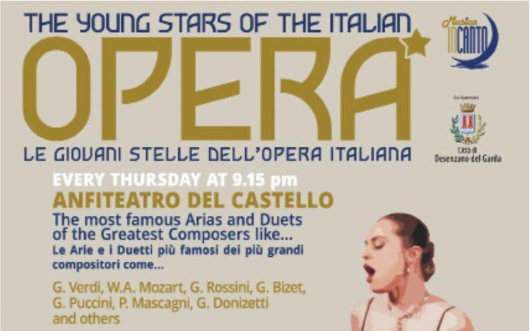 Opernabende in der Burg von Desenzano