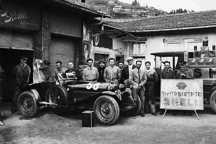 Italien des Mythos: 1000 Miglia und Scuderia Ferrari am Sirmione