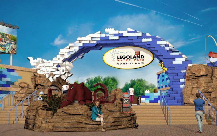 Legoland® Water Park nimmt Formen an