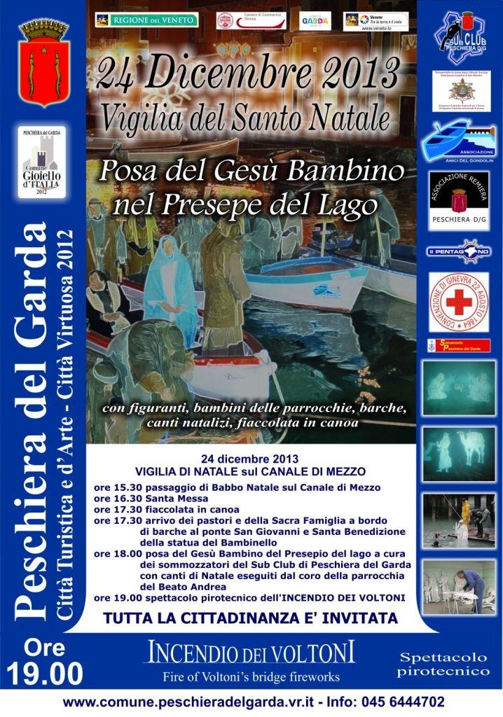 Weihnachten in Peschiera del Garda