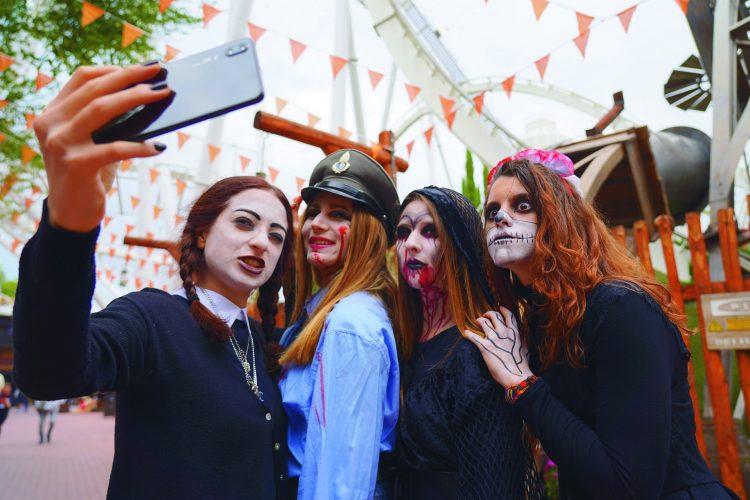 Magic Halloween im Freizeitpark