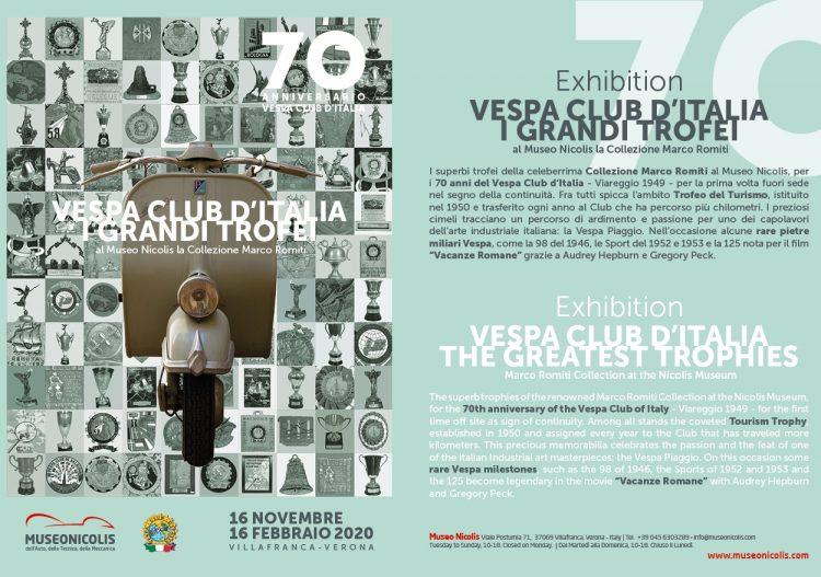 Das Nicolis Museum widmet dem italiensichen Vespa Club eine Ausstellung