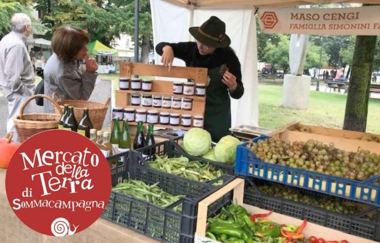 Sommacampagna: Slow Food-Markt am Tag der nationalen Einheit