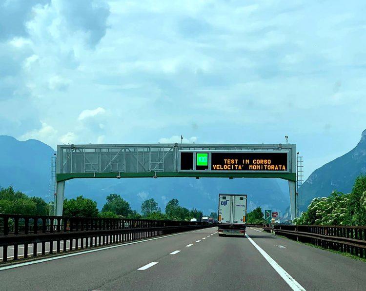 Dynamisches Geschwindigkeitsmanagement: Gutes Zeugnis für A22 BrennerLec