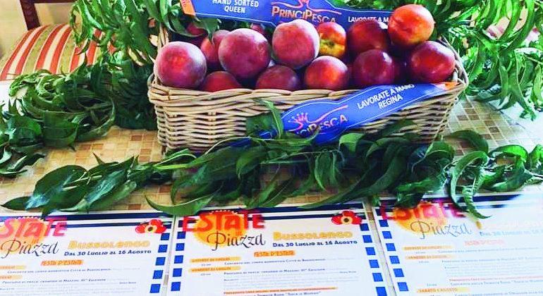 Bussolengo lädt zu Sommerfest und Pfirsich-Ausstellung