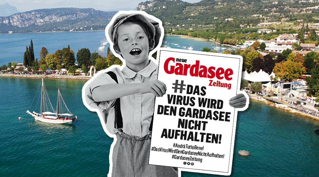 Das Virus wird den Gardasee nicht aufhalten. Aber jeder leiste seinen Beitrag