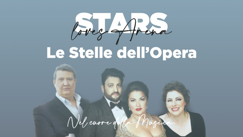 "Verona: ""Die Opernstars"" am 1. August in der Arena"
