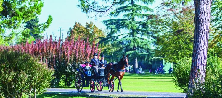 Gartenpark Sigurtà lädt zu einer Reise ins 19. Jahrhundert