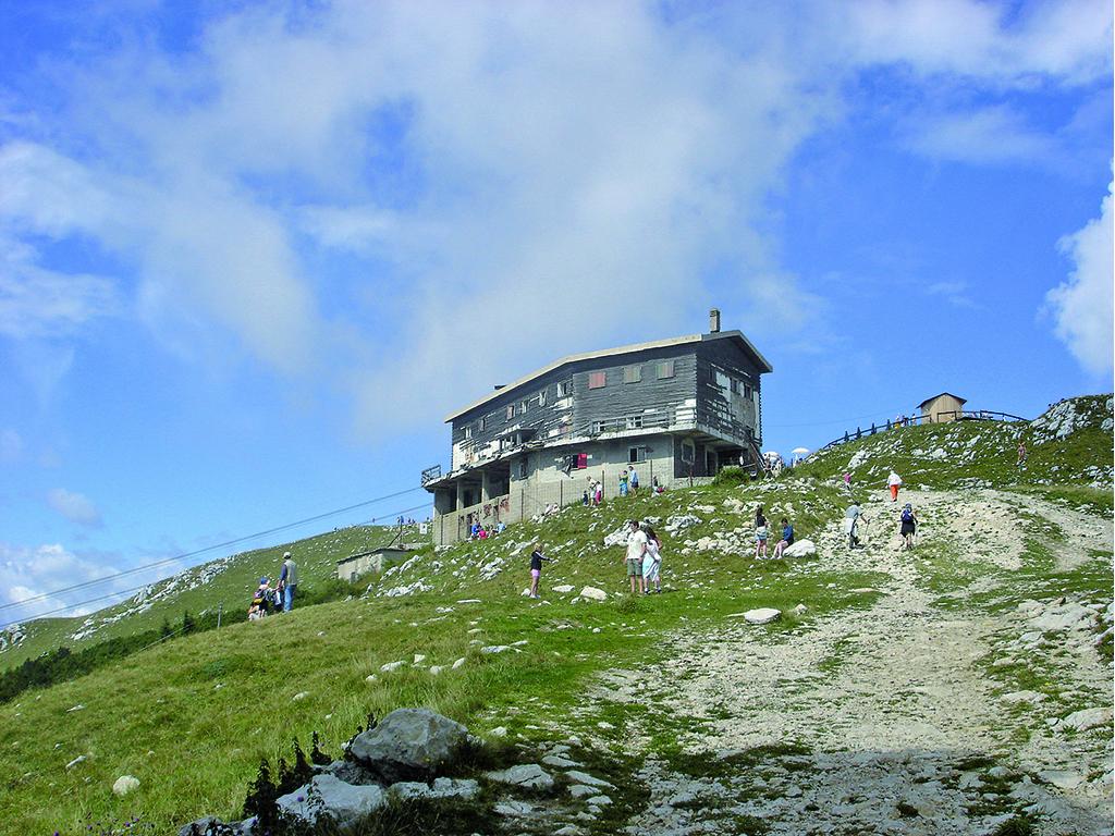 Die Regeln für Wege und Schutzhütten im Gardasee-Gebiet
