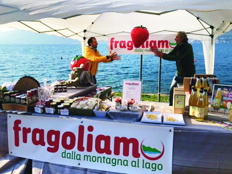 Fragoliamo: Berg-Erdbeeren  und Blaubeeren vom Gardasee