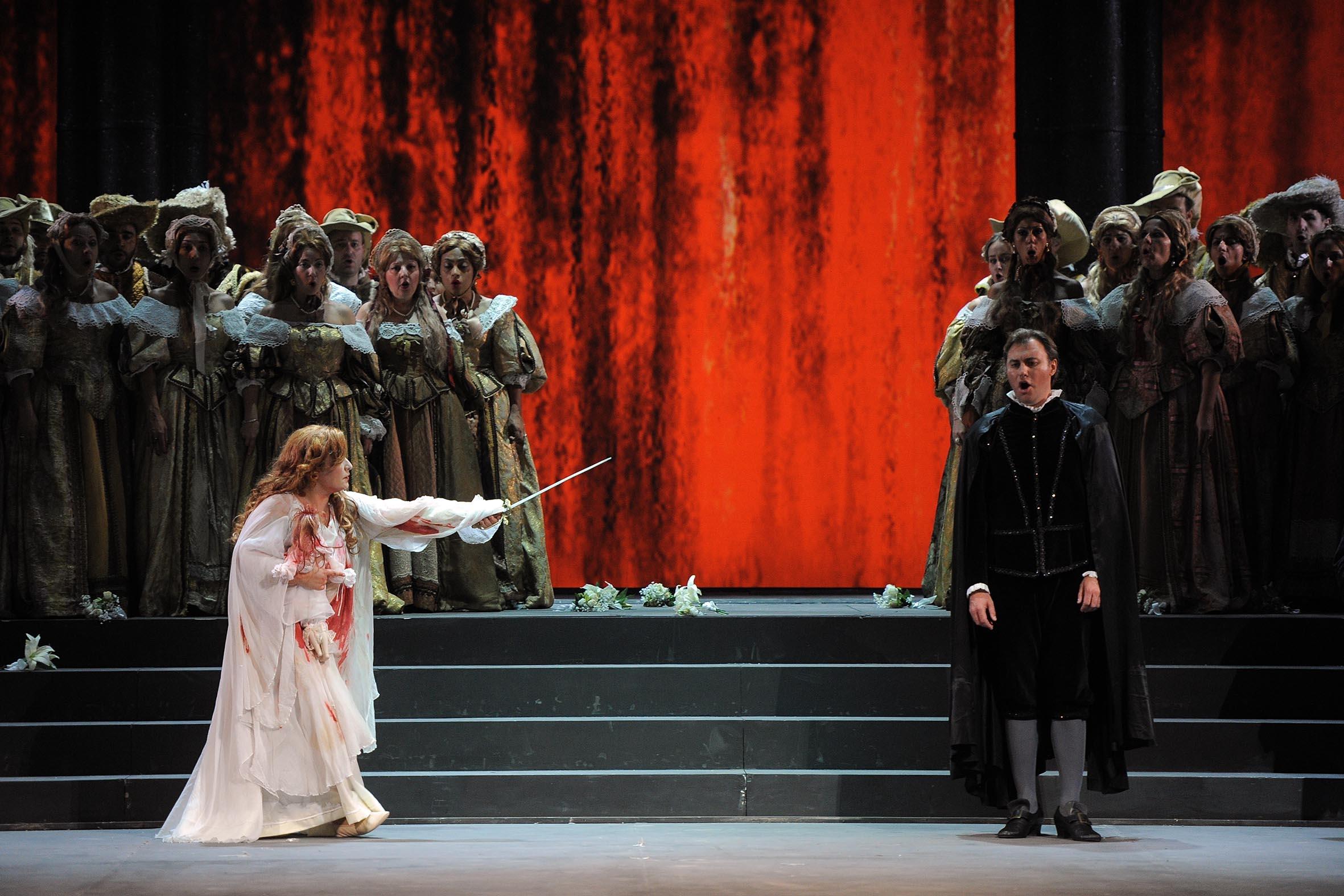 Verona: Lucia von Lammermoor eröffnet Opernsaison im Teatro Filarmonico
