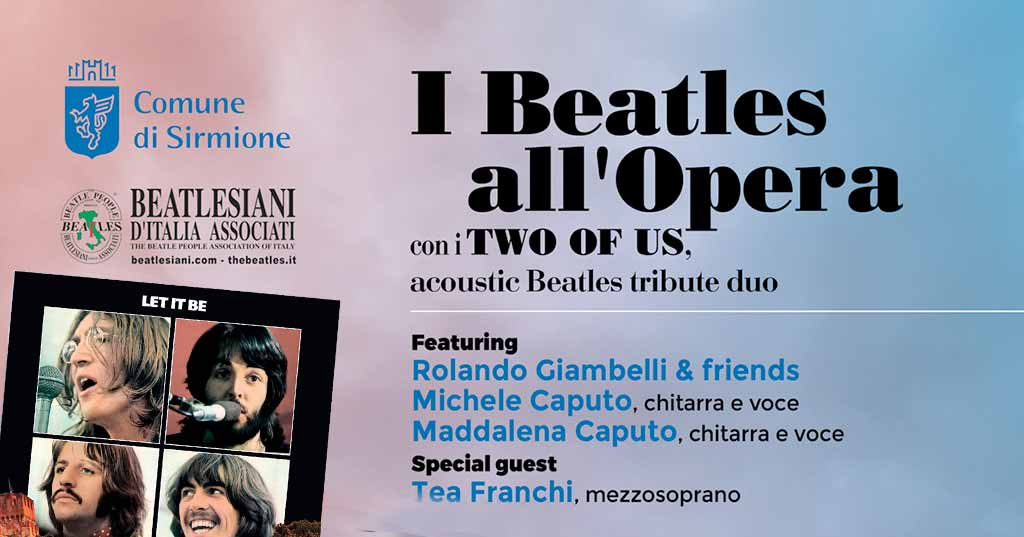 "Sirmione: am 12. August ""Two of Us"", Hommage an The Beatles"