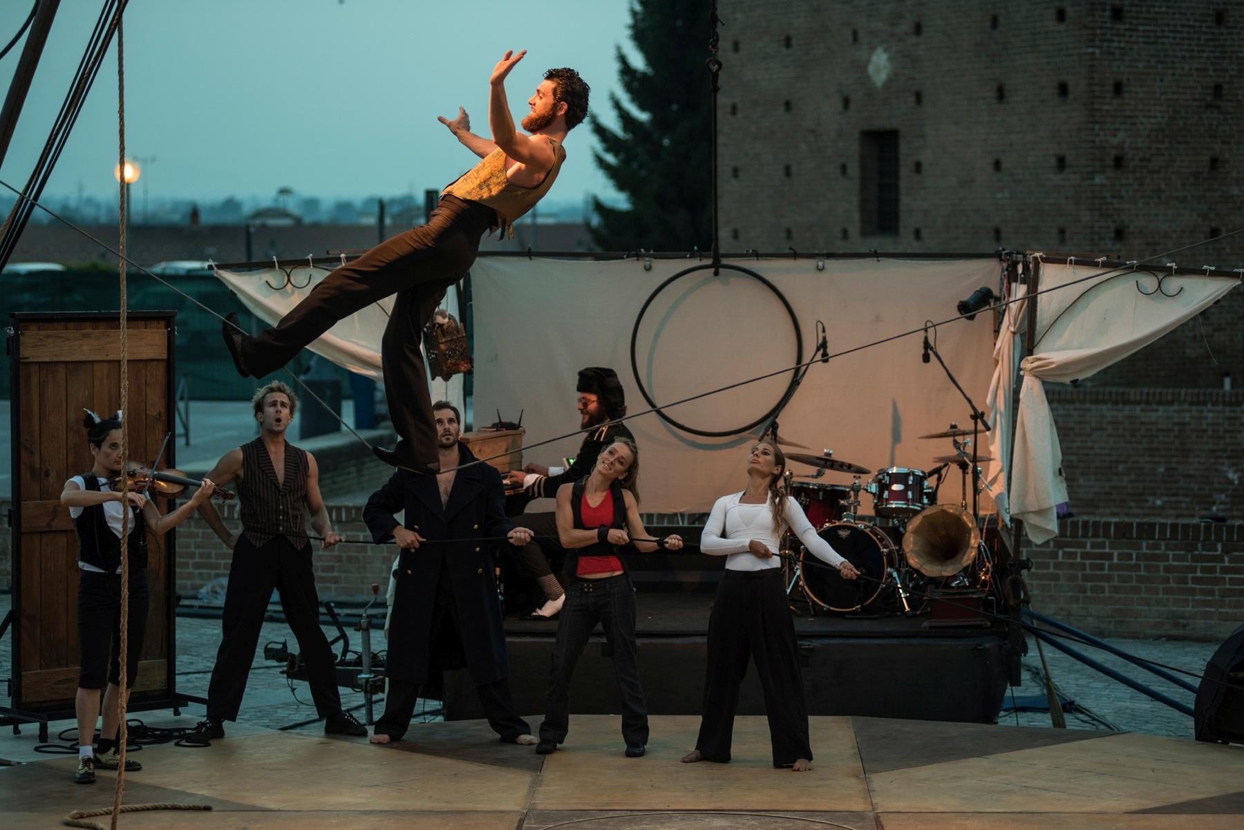 Lonato: Vier Wochenenden im Zeichen des zeitgenössischen Zirkus