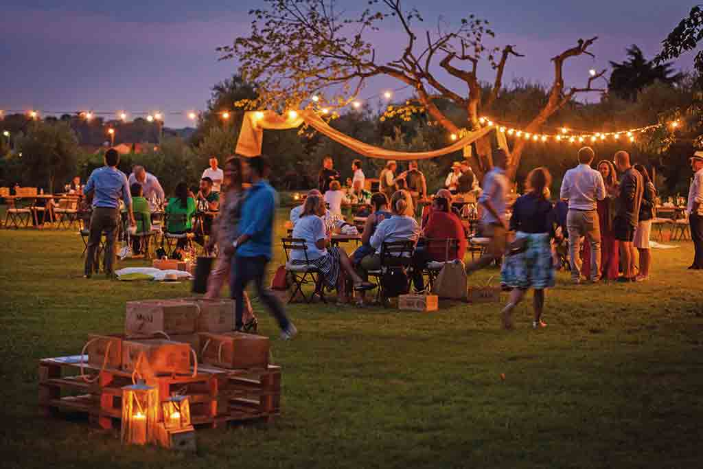 Valpolicella, 31. Juli: Picknick zum Sonnenuntergang