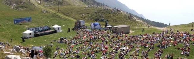Doppelkonzert mit der Arena von Verona auf dem Monte Baldo