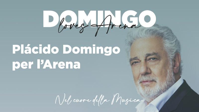 Verona, 28. August: Plàcido Domingo für die Arena