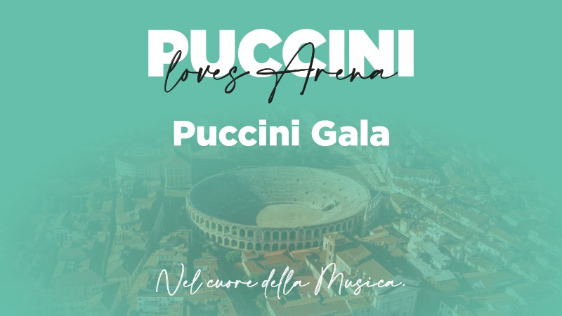 Verona: Am 22. August Puccini-Gala in der Arena