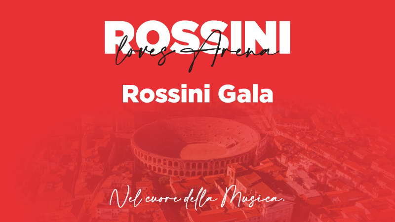 Verona: Am 14. August Rossini-Gala in der Arena