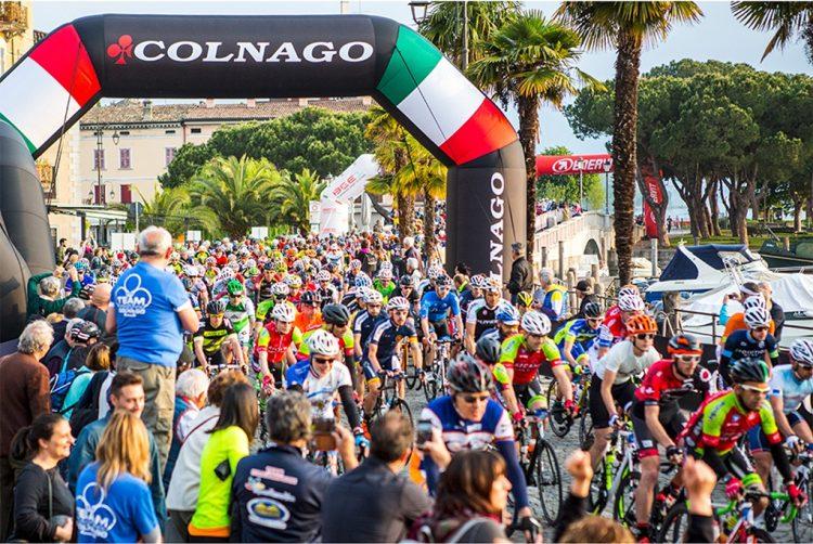 Colnago Cycling Festival: Paolo Savoldelli testet die Rennstrecke