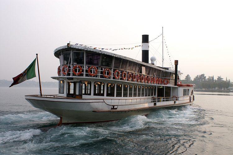Einstiger Dampfer Zanardelli wurde restauriert