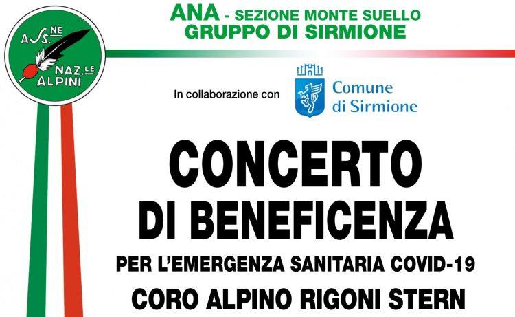 Benefizkonzert der Chor der Alpini in Sirmione