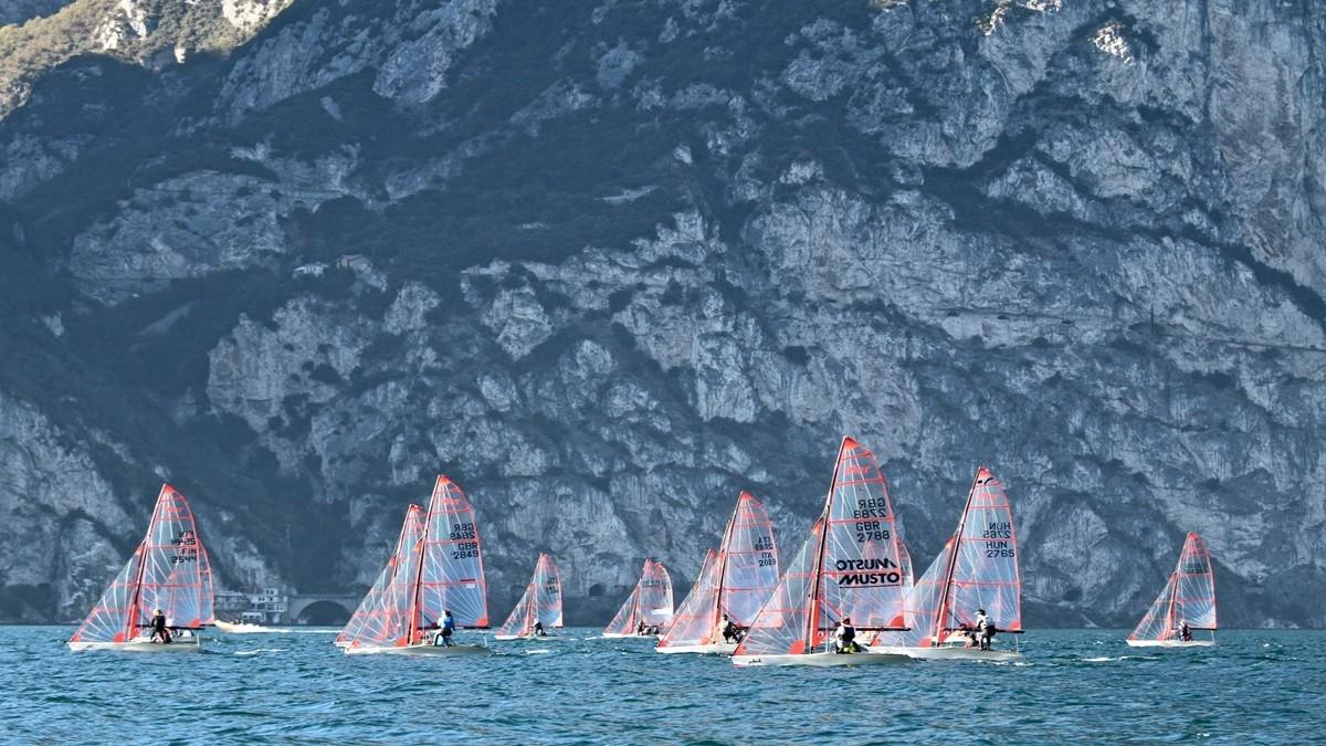 Riva del Garda, 24.-27. Oktober: 29er Class Europameisterschaft
