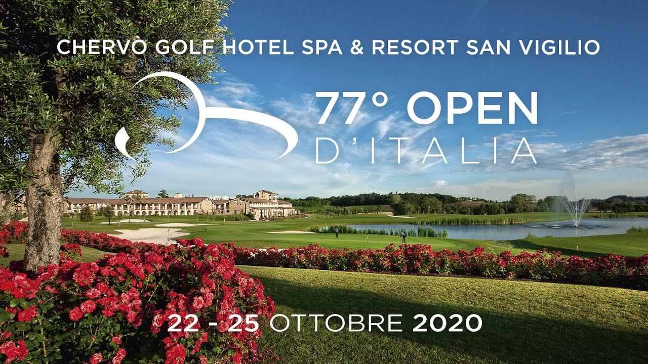 Die 77. Italian Golf Open Championship wird im Chervò Golf in Pozzolengo ausgetragen