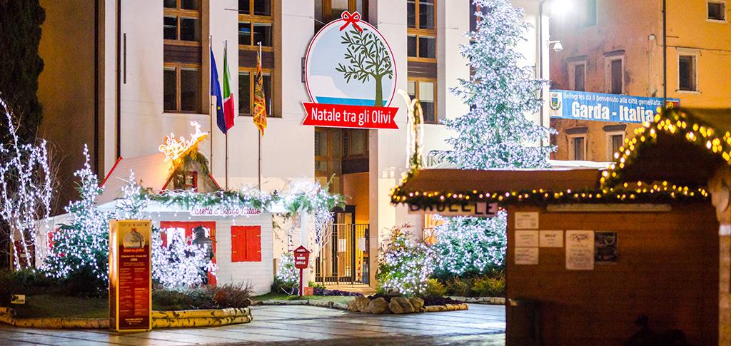 Garda: weihnachtliche Stimmung auch ohne Weihnachtsmarkt