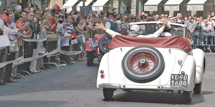 Mille Miglia 2021: Rennstrecke führt auch am Gardasee entlang