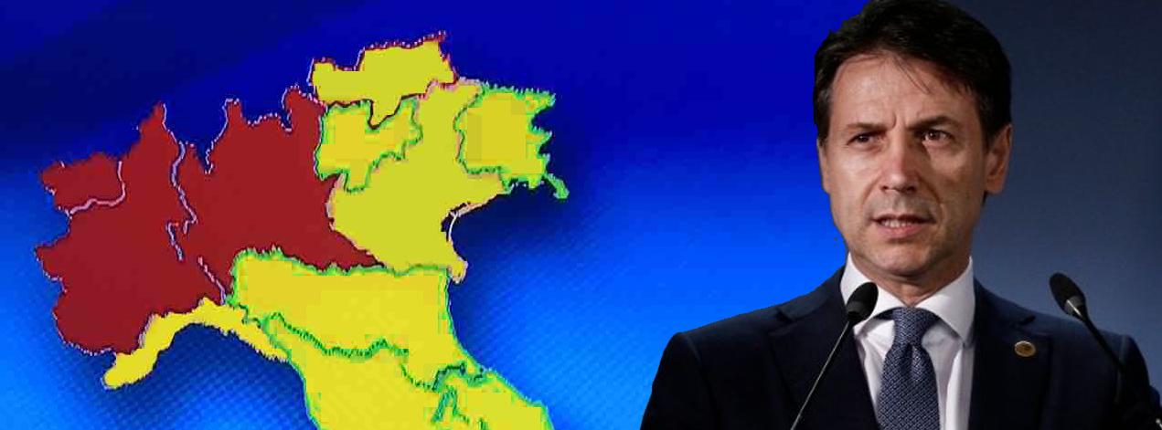 Neues Dekret: italienische Regionen in drei Zonen unterteilt