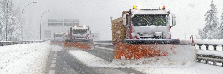 Außerordentliche Schneefälle: A22 bleibt in Betrieb. Brenner erst ab 19 Uhr für LKWs geschlossen