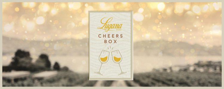 Herzliche Grüße mit der Lugana Cheers Box, und Toast online ab 23. Dezember