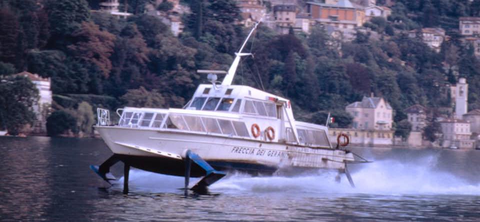Historisches Tragflügelboot wird zum Museumsstück