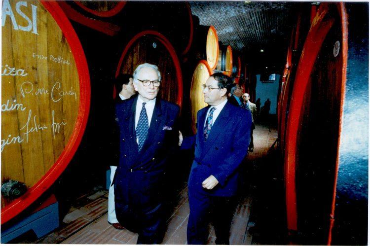 Die Fondazione Masi erinnert an Pierre Cardin