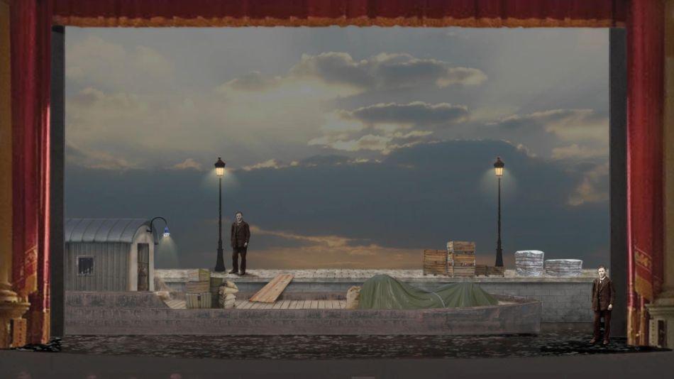 Opernsaison 2021: Il Parlatore eterno und Il Tabarro online vom Teatro Filarmonico