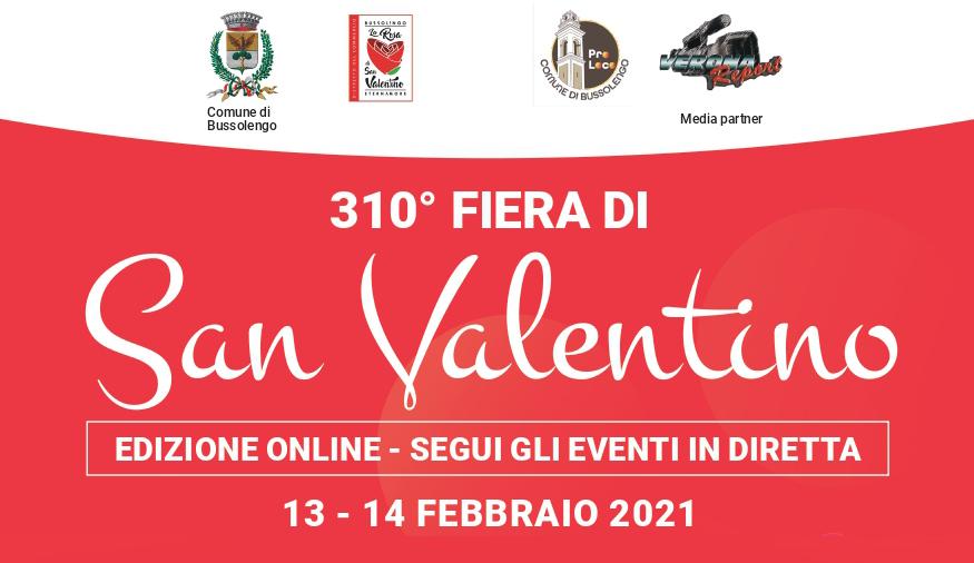 Bussolengo, die 310. Valentinstag-Messe live im TV und Streaming