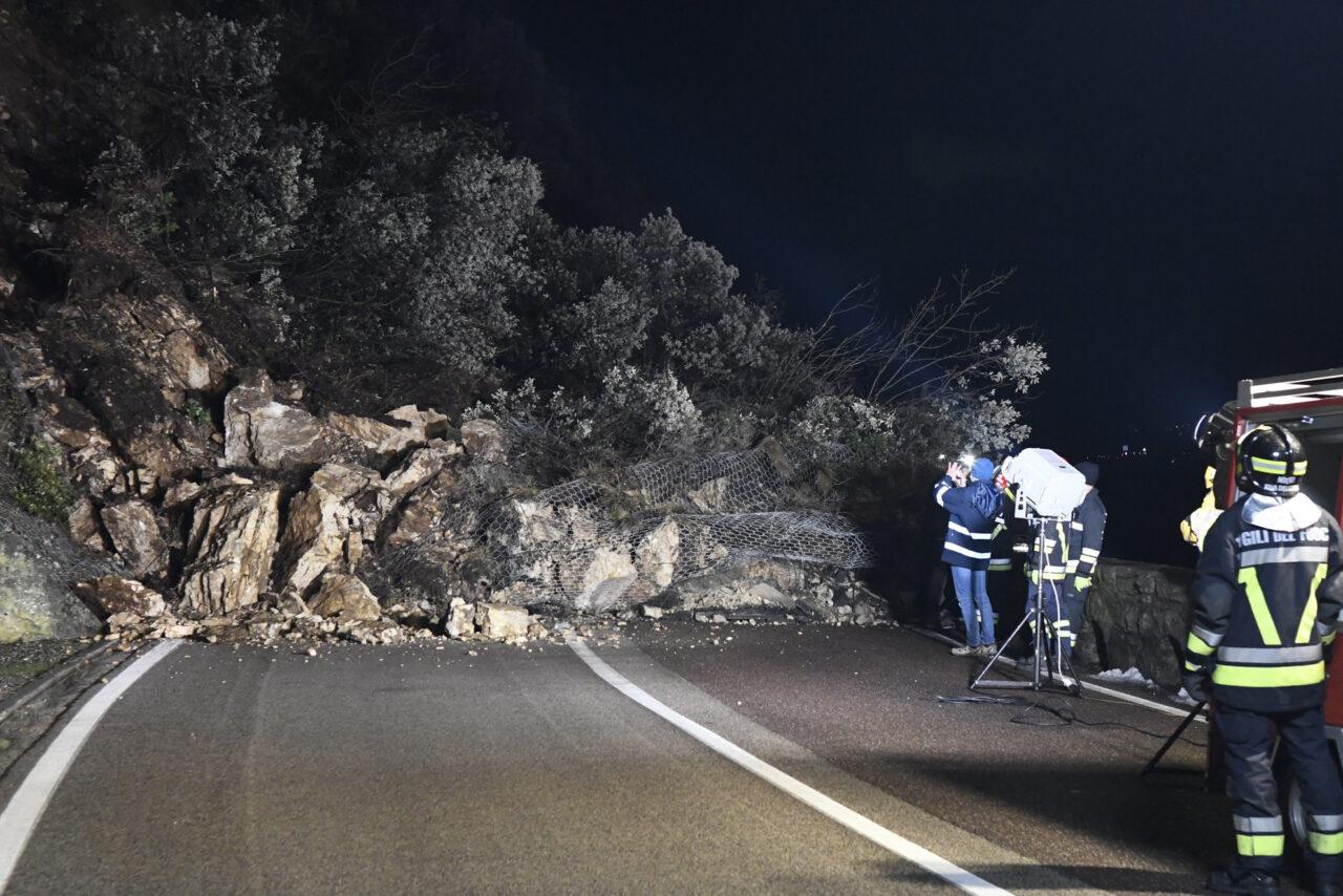 Die Gardesana-Straße im Abschnitt an der Grenze zum Trentino wieder geöffnet