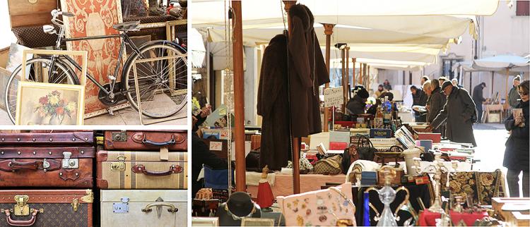 Termine des Antiquitätenmarktes in Valeggio angekündigt