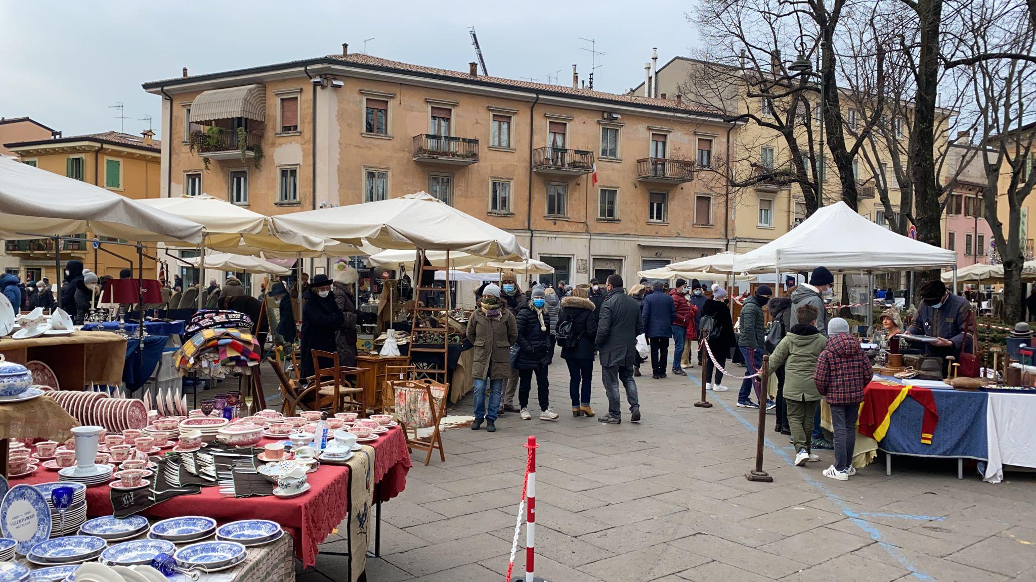 Sonntag, 7. Februar Verona Antiquaria, der Markt der Antiquitäten, Sammlerstücke und Vintage
