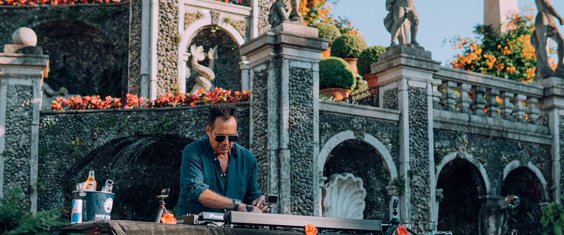 DJ Joe T Vannelli live auf Facebook von Vittoriale am 18. Februar