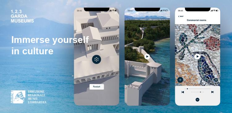 Eine innovative App zum Besuch von drei Museen in Sirmione und Desenzano