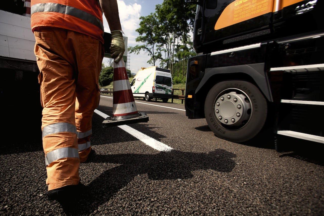 Drastischer Verkehrsrückgang: A22 beschleunigt Instandhaltungsarbeiten