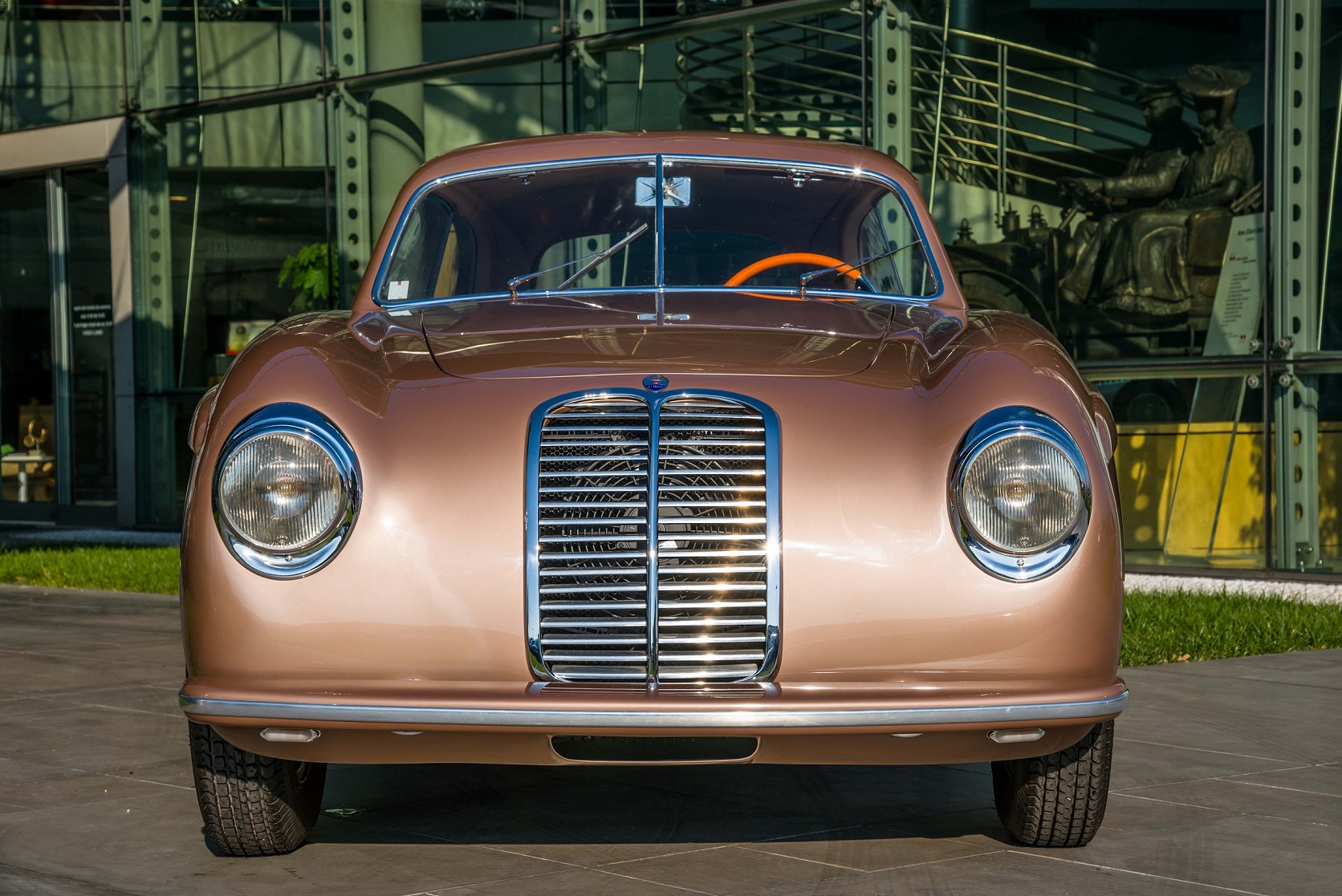 Oldtimer aus dem Nicolis Museum gehören zu den Stars des Maserati FuoriSerie-Shootings