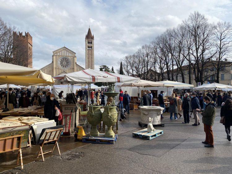 Verona Antiquaria: die Ausgabe vom 7. März ist den Frauen gewidmet