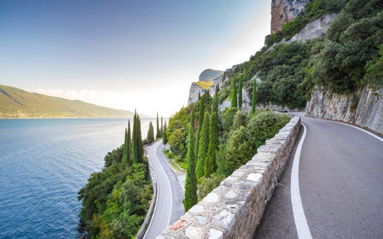 Leider wird die Straße della Forra erst im September wieder geöffnet