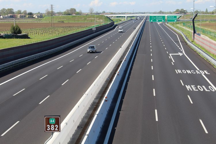 A4: am 17. April wird der Abschnitt zwischen Brescia Est und Desenzano gesperrt